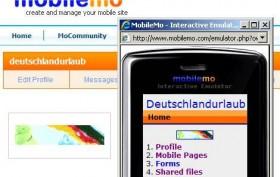 Mobilemo - Website Builder mit File Sharing aus Manila