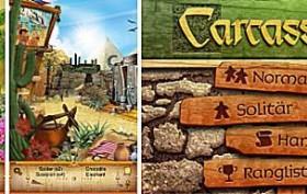 Screenshots: Ankh und Carcassonne