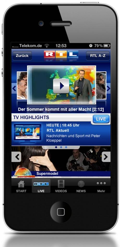 100716_RTL_App_Pressebilder_Startseite_iPhone4
