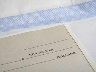 Schecks ohne Bank einlösen