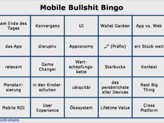 Mobile Bullshit Bingo