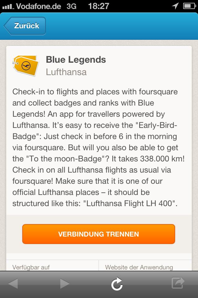 Blue Legends Lufthansa