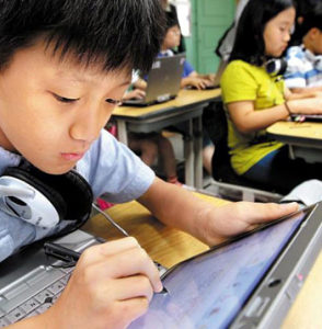 tablet Korea School
