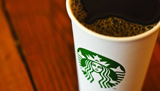 e Starbucks White Cup