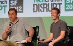 Marc Zuckerberg @ Techcrunch Disrupt