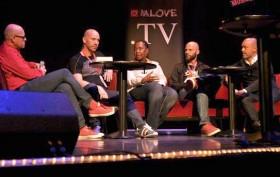 Diskussionsrunde auf der MLOVE Mobile X Music