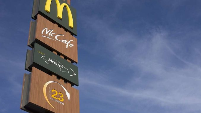 mobile payment bei mcdonalds