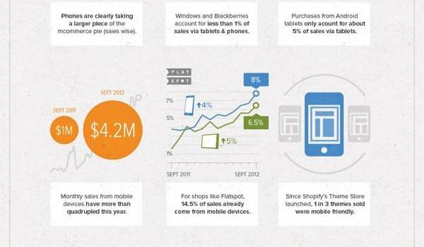 Infografik von Shopify