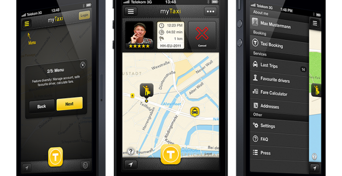 myTaxi_UX_Launch