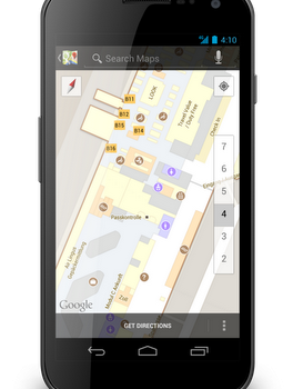 Google Indoor Maps Munich airport