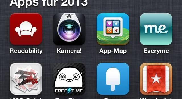 Teaser Apps für 2013
