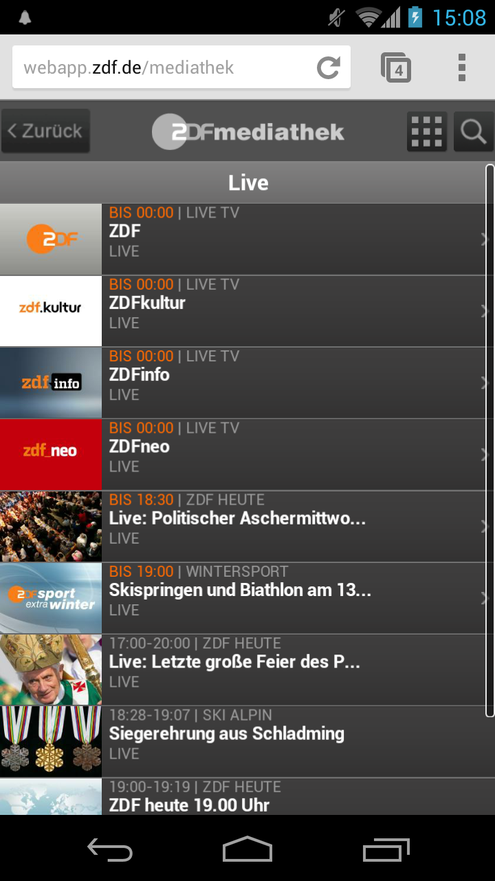 13.02.13 - ZDF Livestream