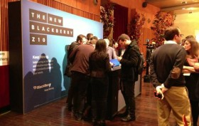 BlackBerry bei ShowStoppers 2013 in Barcelona