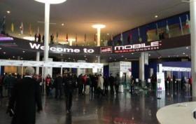 Eingang zum MWC 2013