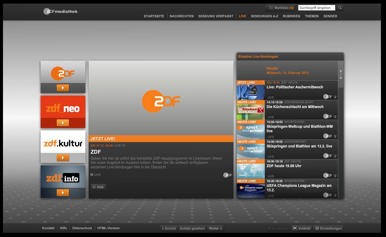 zdf-livestream-webapp