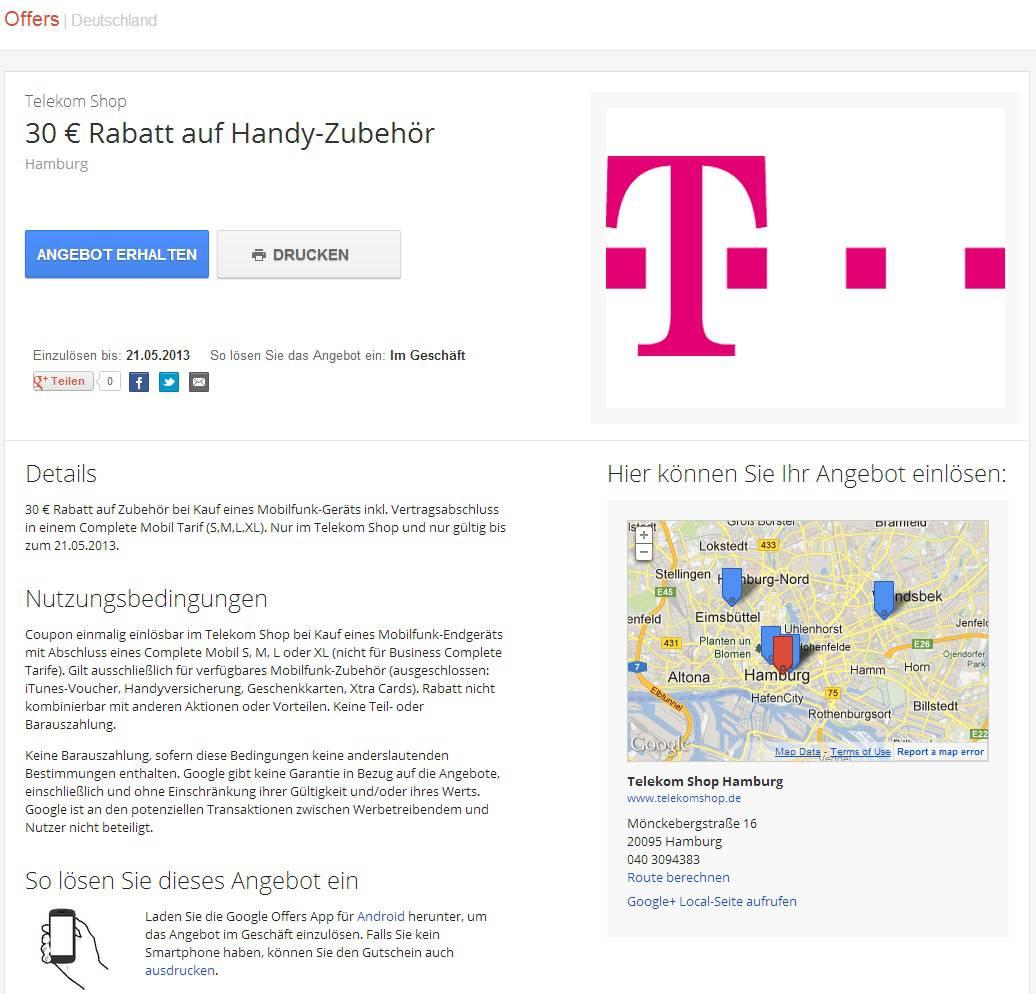 Coupon Telekom