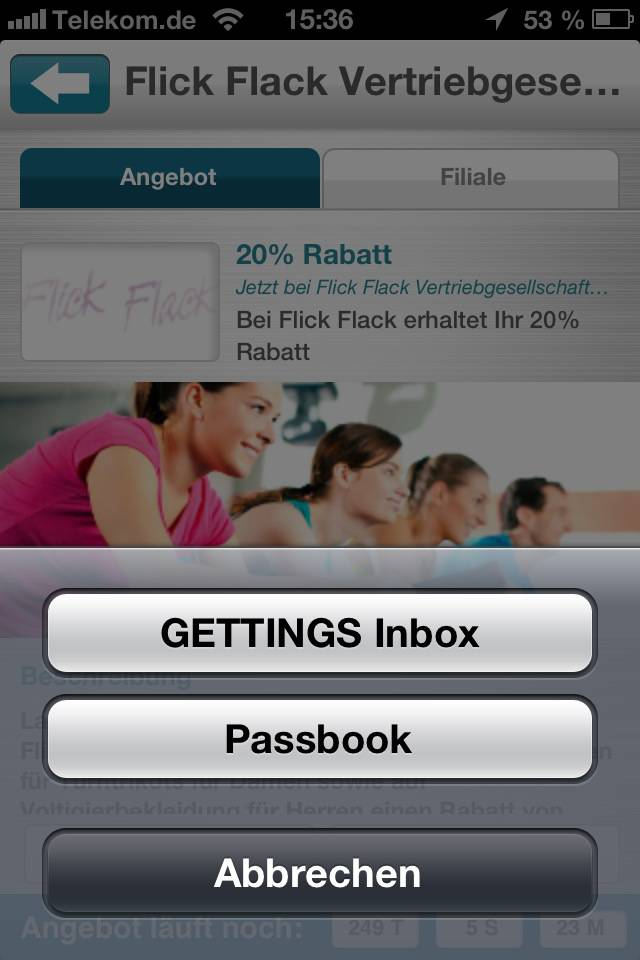Passbook Gettings
