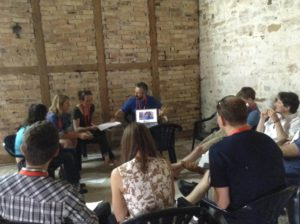 Future Cubes session @MLOVE with Nike Foundation and Africa online on Google hangouts