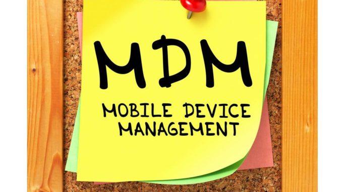 Mobile Device Management. via Shutterstock