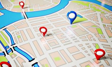 Street Map.  via Shutterstock
