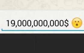 19000000000$ für Whatsapp