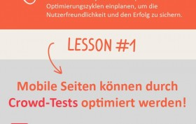 Infografik Mobile Usability von der Userlution GmbH