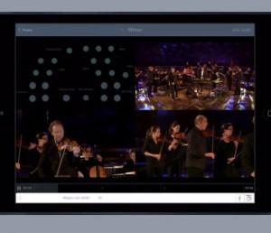 """Screenshot der App """"Vivaldis Vier Jahreszeiten"""""""