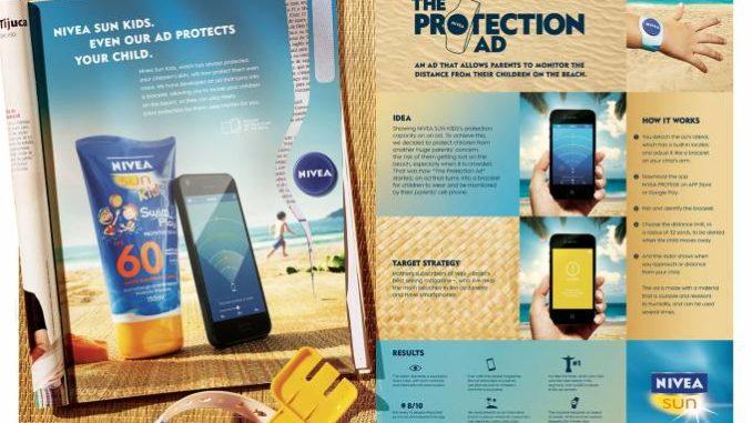 nivea protection ad