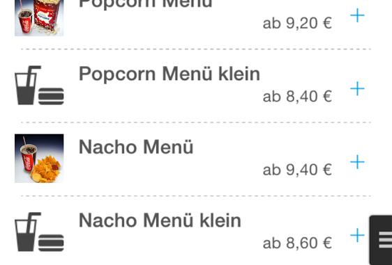 popcorn jetzt im kinopolis per app bezahlen und wartezeiten sparen. Black Bedroom Furniture Sets. Home Design Ideas