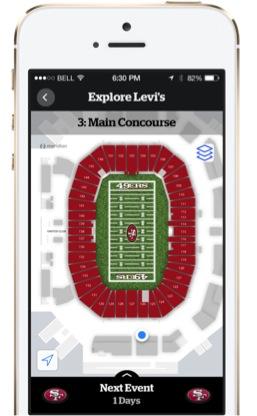 Mobile Zeitgeist Beacon Kompendium Use Case Stadion