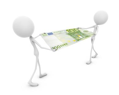 Geldschieber