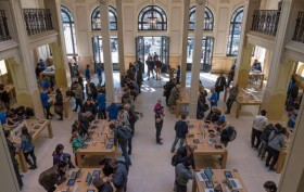 paris apple store