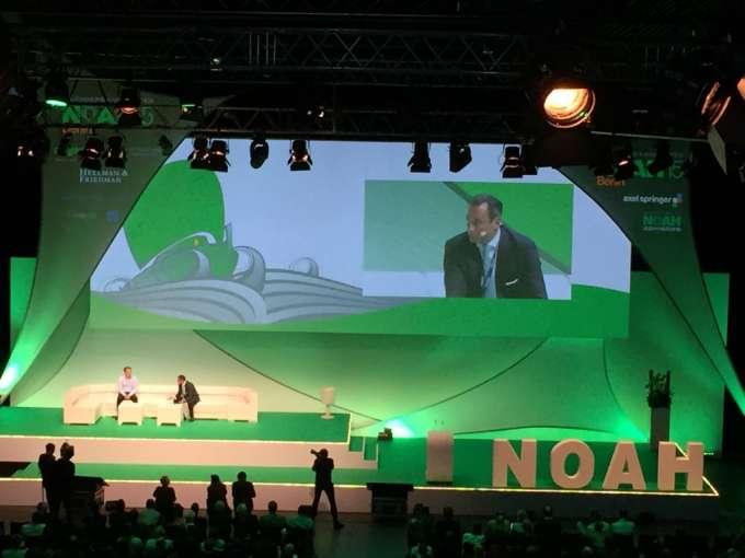 NOAH Berlin Samwer Keynote Foto: Lilian Güntsche