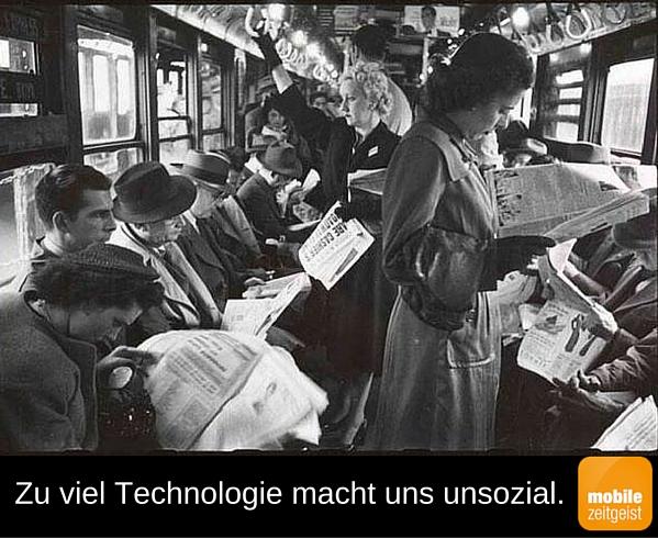 technologie unsozial