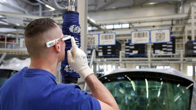 d brille datenbrille volkswagen