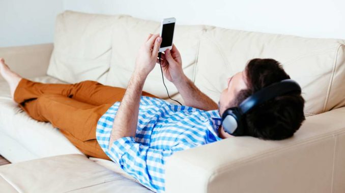 smartphone couch