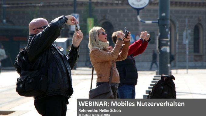 Mobiles Nutzerverhalten