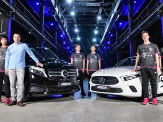 Mercedes und Audi unterstützen mit Sponsoring je ein eSport-Team.