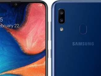Das Samsung Galaxy A20 überzeugt mit einem 6,4-Zoll HD+ Infinity-V Super AMOLED Display sowie weiteren Features.